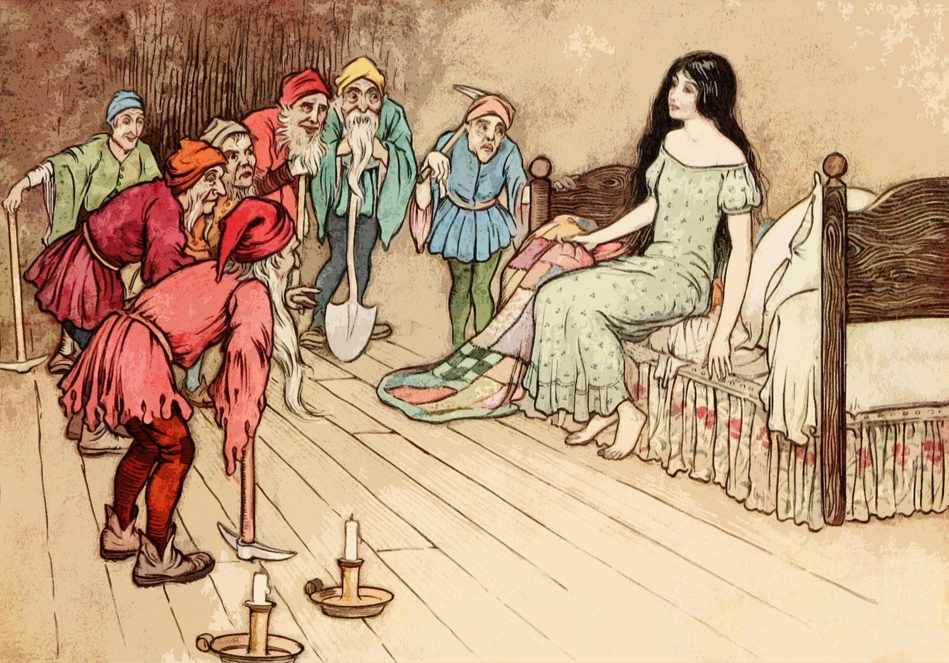 Magische 7 im Märchen