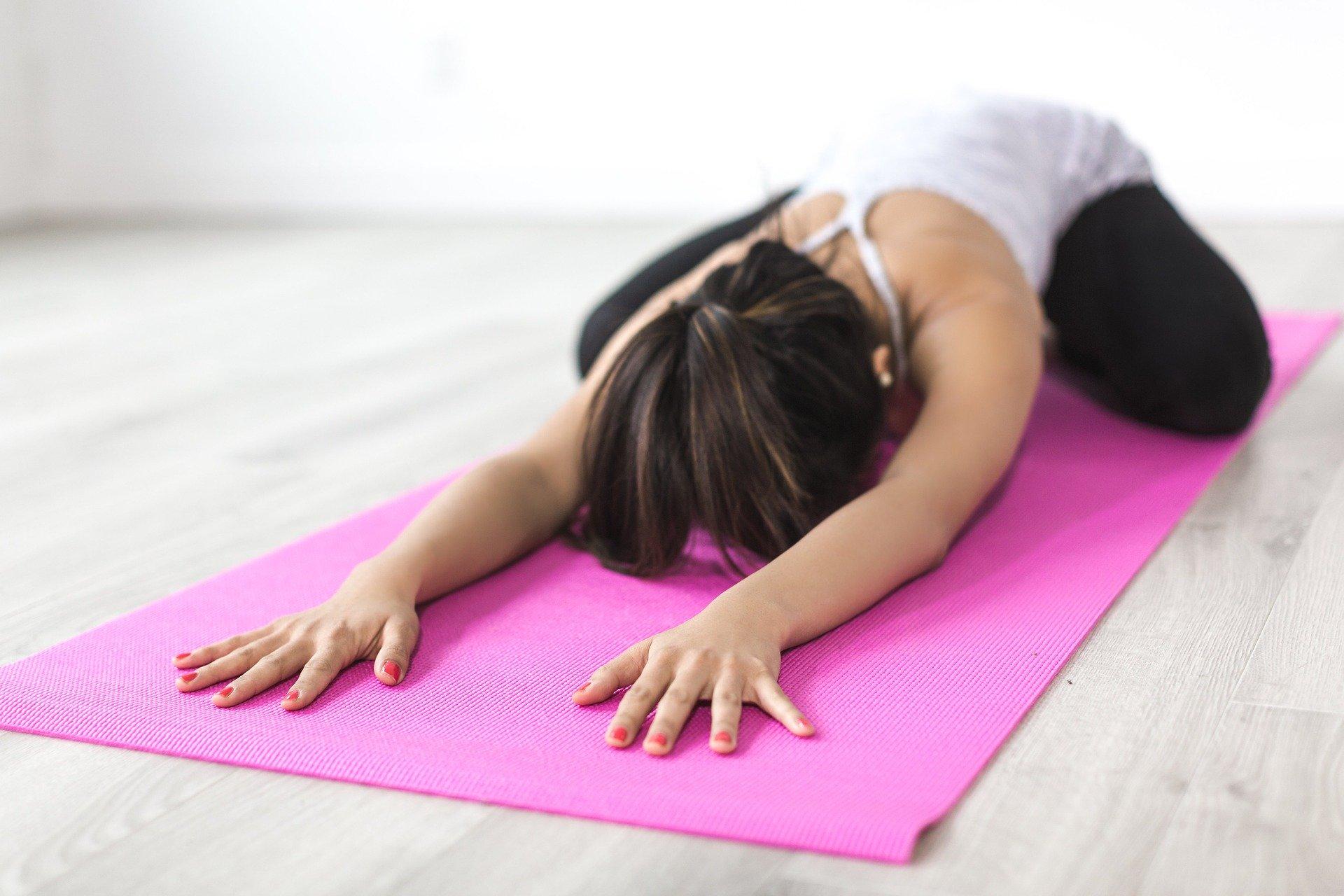 Yoga hilft gegen Prüfungsangst